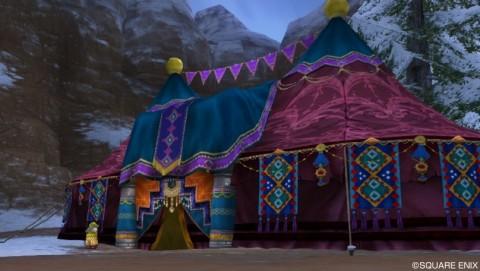 ナッチョスのテント