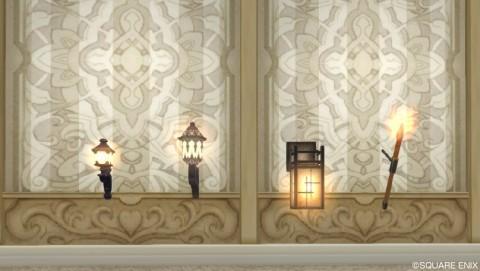 壁かけ家具・ランプ系