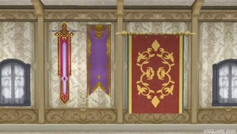 壁かけ家具・紋章旗系
