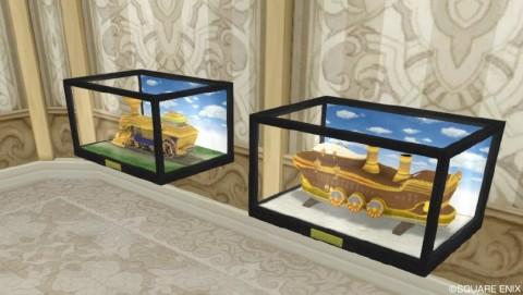 壁かけ大地の方舟の模型