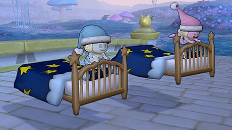 空飛ぶベッドプリズム
