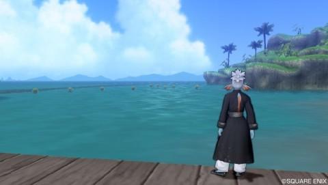 ジュレット「遊泳エリア」