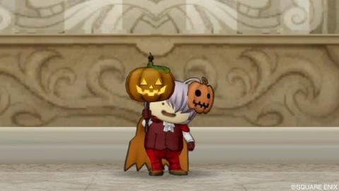傘アイテム かぼちゃランタン