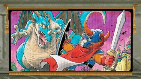 壁かけDQIの絵