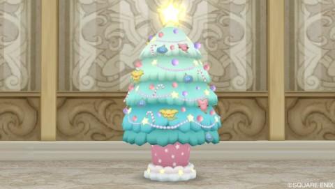 星のクリスマスツリー