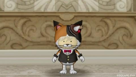 三毛猫スーツ