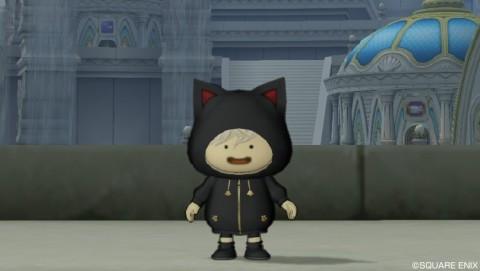 おしゃれ装備「黒猫セット」
