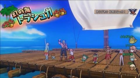 「幻の海トラシュカ」イベント登場