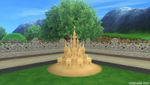 お城のサンドアート3