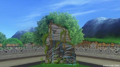 ジャングルの岩壁2