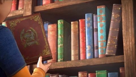 エンディングに登場する謎の本