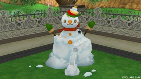 雪だるまスライダー