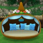 お庭用リゾートベッド(庭具)