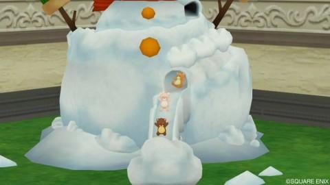 雪だるまスライダー3